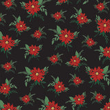 Carta Bella Papers - Christmas Market - Poinsettias - 2 Sheets