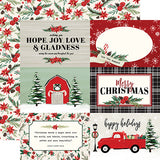 Carta Bella Cut-Outs - Christmas Market - 4x6 Journaling Cards