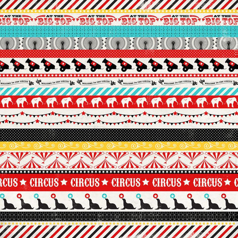 Carta Bella Cut-Outs - Circus Party - Circus Borders