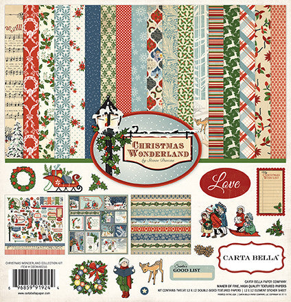 Carta Bella Collection Kit - Christmas Wonderland