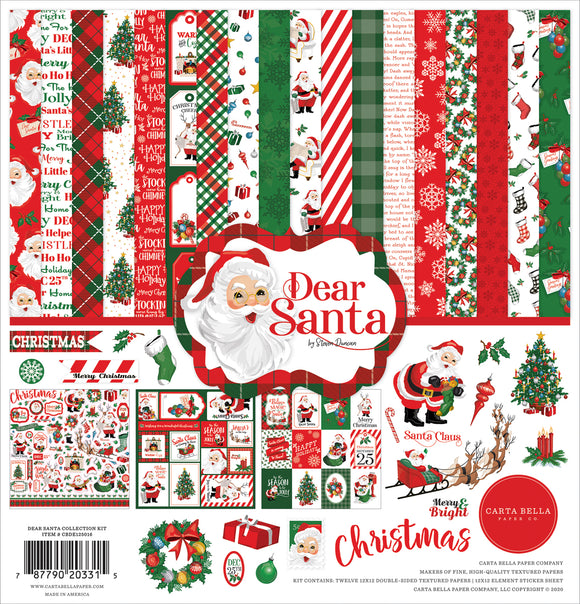 Carta Bella Collection Kit - Dear Santa