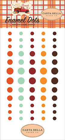 Carta Bella Enamel Dots - Fall Break