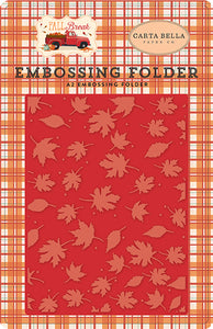 Carta Bella Embossing Folder - Fall Break - Whisking Leaves