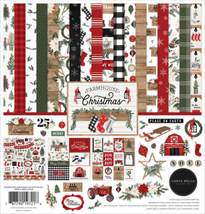 Carta Bella Collection Kit - Farmhouse Christmas