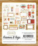 Carta Bella Frames & Tags Die-Cuts - Fall Market