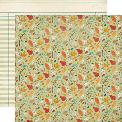Carta Bella Papers - Fall Blessings - Autumn Day - 2 Sheets