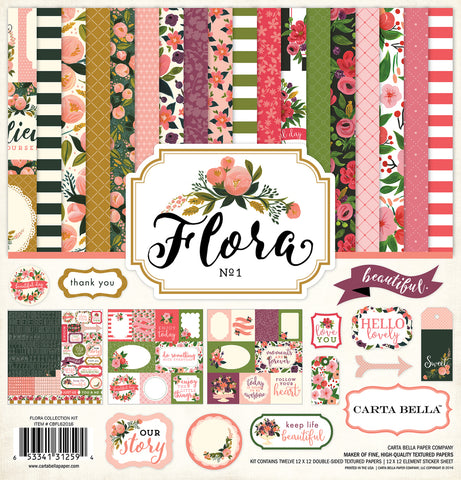 Carta Bella Collection Kit - Flora