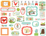 Carta Bella Ephemera Die-Cuts - Farm to Table