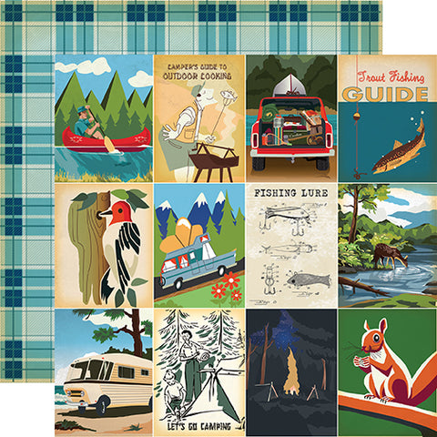 Carta Bella Cut-Outs - Gone Camping - 3x4 Journaling Cards