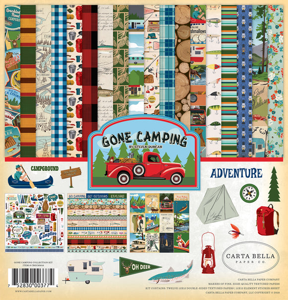 Carta Bella Collection Kit - Gone Camping