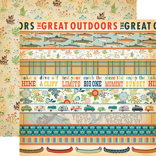 Carta Bella Cut-Outs - The Great Outdoors - Border Strips