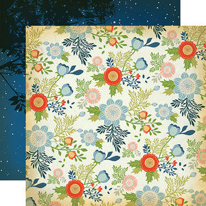 Carta Bella Papers - The Great Outdoors - Wildflowers - 2 Sheets