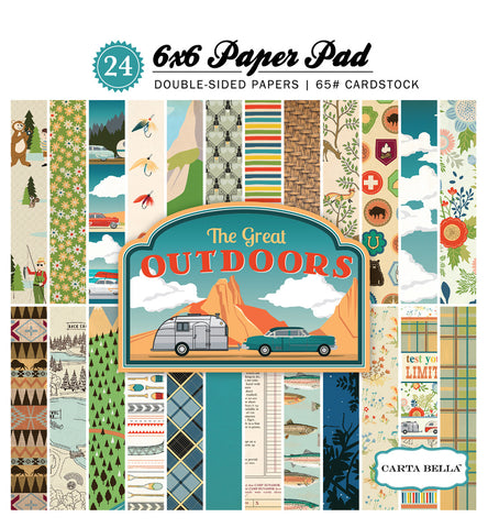 Carta Bella 6x6 Pad - The Great Outdoors