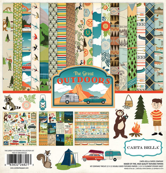 Carta Bella Collection Kit - The Great Outdoors