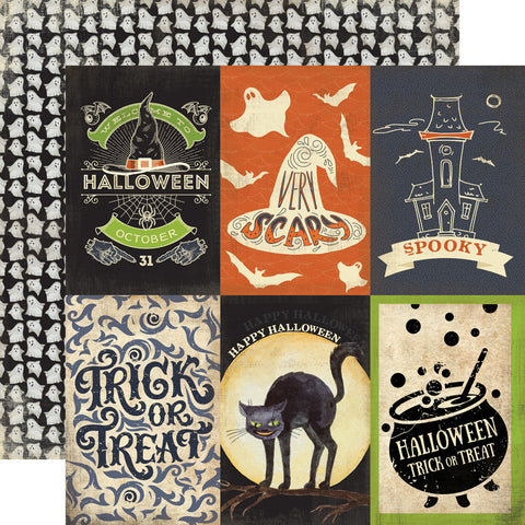 Carta Bella Cut-Outs - Haunted - 4x6 Journaling Cards