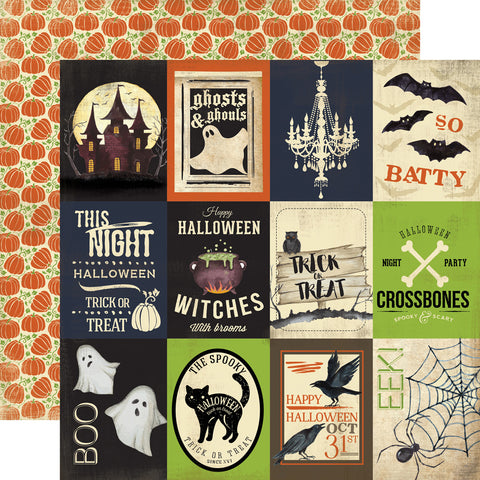 Carta Bella Cut-Outs - Haunted - 3x4 Journaling Cards