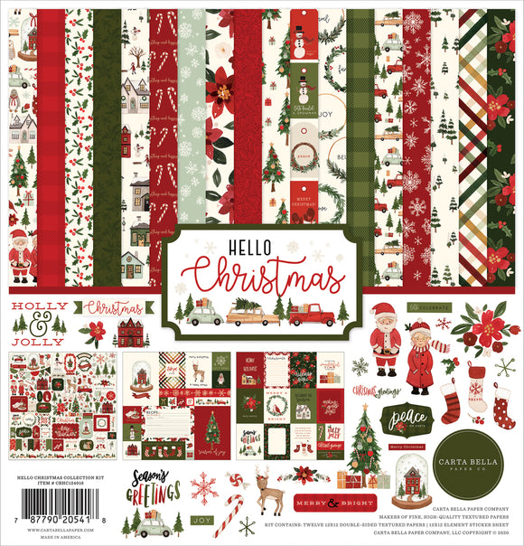Carta Bella Collection Kit - Hello Christmas