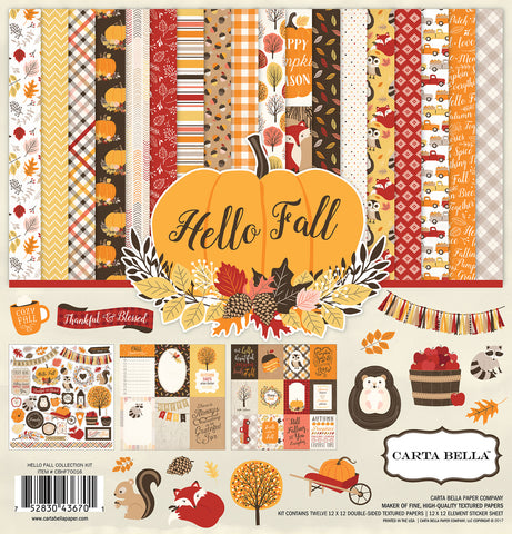 Carta Bella Collection Kit - Hello Fall