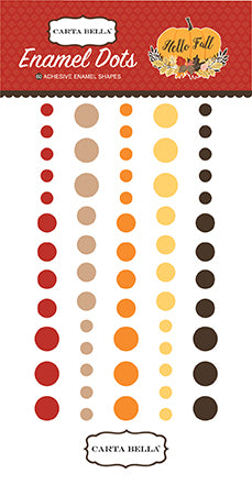 Carta Bella Enamel Dots - Hello Fall