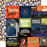 Carta Bella Cut-Outs - Haunted House - Multi Journaling Cards