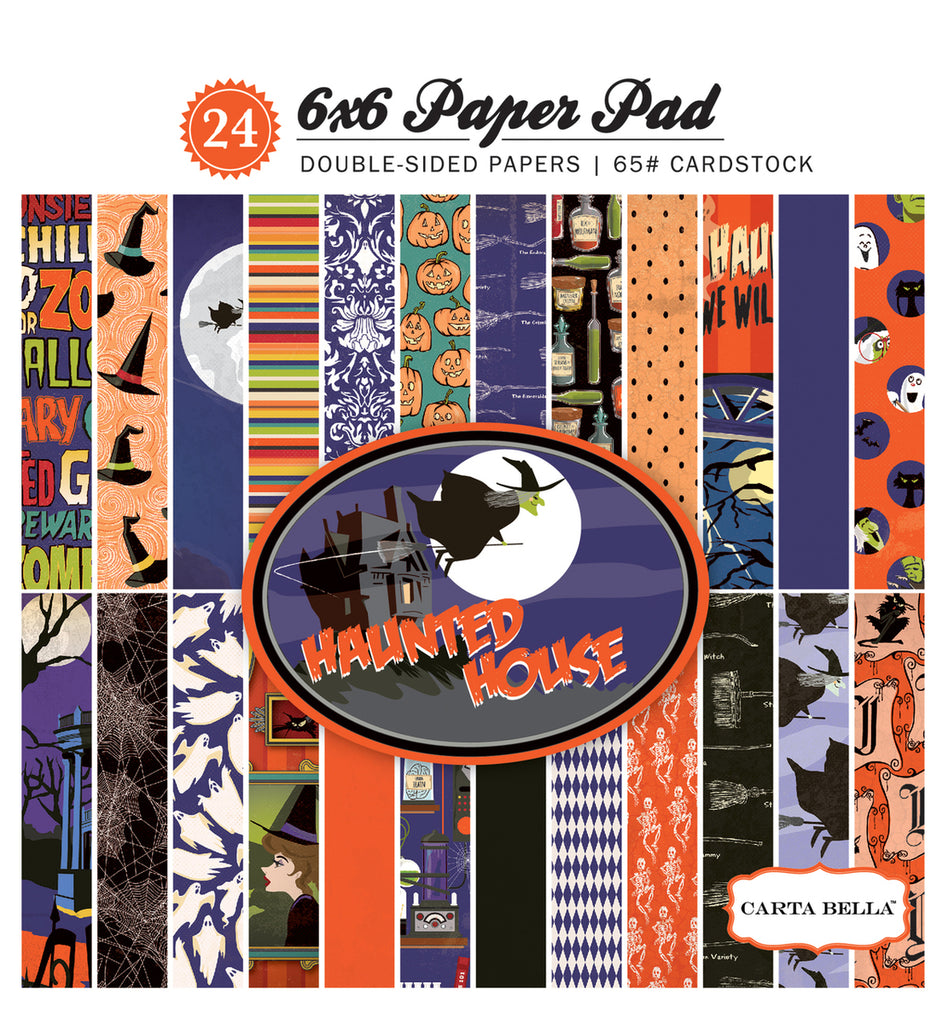 Carta Bella 6x6 Pad - Haunted House