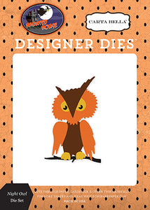 Carta Bella Designer Dies - Haunted House - Night Owl Set