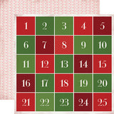 Carta Bella Cut-Outs - Have a Merry Christmas - Advent Calendar