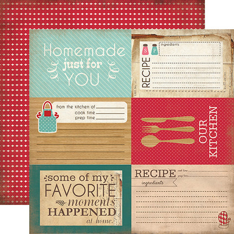 Carta Bella Cut-Outs - Home Sweet Home - 4x6 Journaling Cards