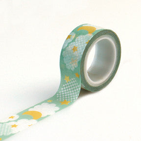 Carta Bella Washi Tape - It's a Boy - Clouds & Stars