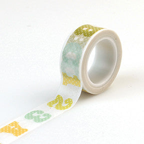 Carta Bella Washi Tape - It's a Boy - ABC123
