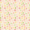Carta Bella Papers - It's a Girl - Alphabet - 2 Sheets