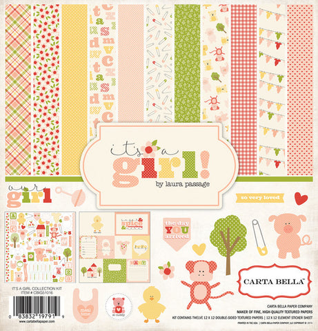Carta Bella Collection Kit - It's a Girl