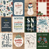 Carta Bella Cut-Outs - Let It Snow - 3x4 Journaling