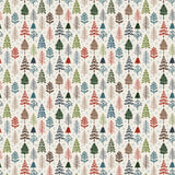 Carta Bella Papers - Let It Snow - Pretty Pines - 2 Sheets