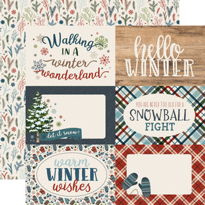 Carta Bella Cut-Outs - Let It Snow - 4x6 Journaling
