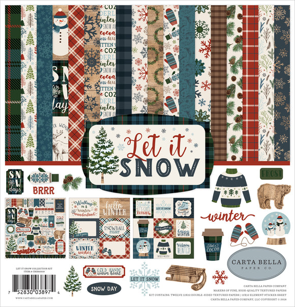 Carta Bella Collection Kit - Let It Snow