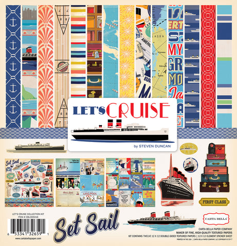 Carta Bella Collection Kit - Let's Cruise