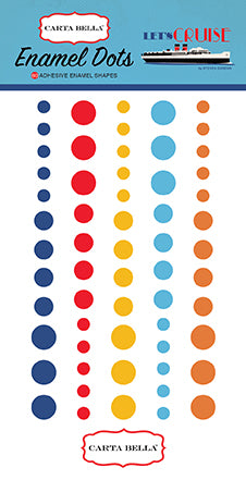 Carta Bella Enamel Dots - Let's Cruise