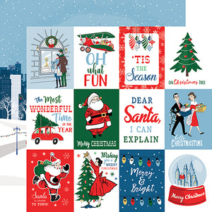 Carta Bella Cut-Outs - Merry Christmas - 3x4 Journaling Cards