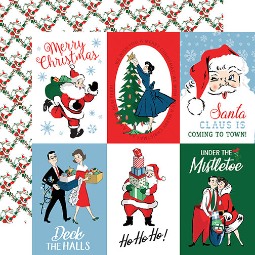 Carta Bella Cut-Outs - Merry Christmas - 4x6 Journaling Cards