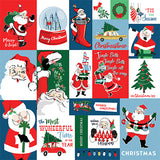 Carta Bella Cut-Outs - Merry Christmas - Christmas Squares