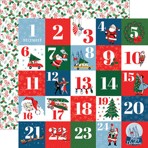 Carta Bella Cut-Outs - Merry Christmas - Countdown to Christmas