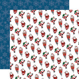 Carta Bella Papers - Merry Christmas - Jolly Santa Claus - 2 Sheets