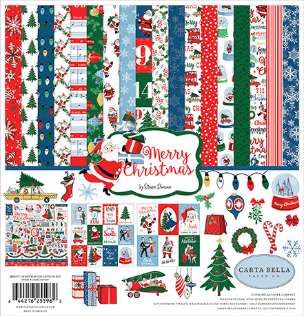Carta Bella Collection Kit - Merry Christmas