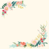Carta Bella Cut-Outs - Flower Market - Border Strips