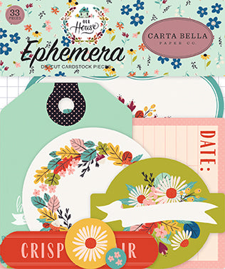 Carta Bella Ephemera Die-Cuts - Our House