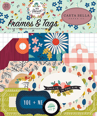 Carta Bella Frames & Tags Die-Cuts - Our House