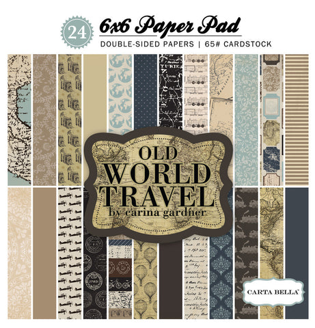 Carta Bella 6x6 Pad - Old World
