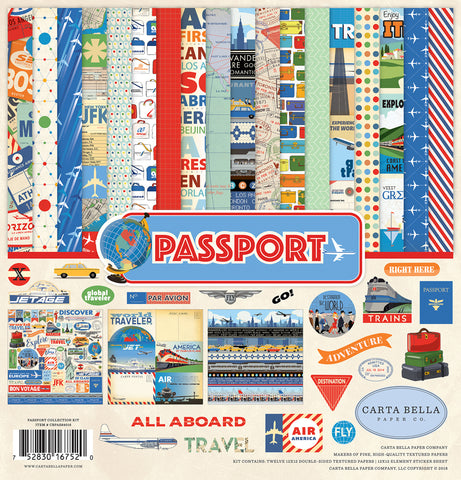 Carta Bella Collection Kit - Passport