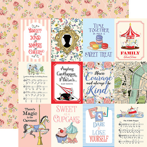 Carta Bella Cut-Outs - Practically Perfect - 3x4 Journaling Cards